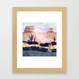Autumn Desert Framed Art Print