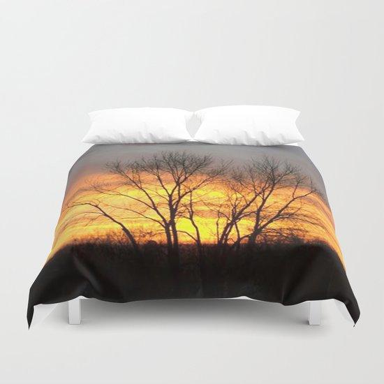 Radiant Sunset Duvet Cover