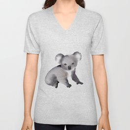 Cute Koala - Australian Animal Unisex V-Neck