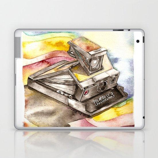 Vintage gadget series: Polaroid SX-70 Model 3 Land Camera Laptop & iPad Skin