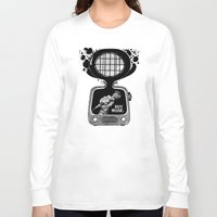 transistor Long Sleeve T-shirts featuring Buy Music. by wurkingartist
