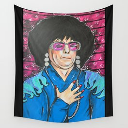 SNL Mike Meyers as Linda Richman Wall Tapestry
