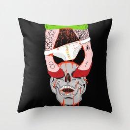 double s Throw Pillow