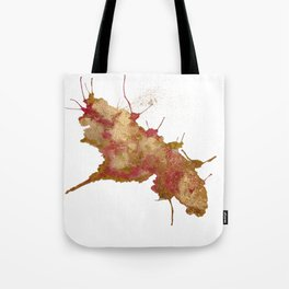 Smushed Butterfly Tote Bag