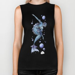 Mermaid 13 Biker Tank