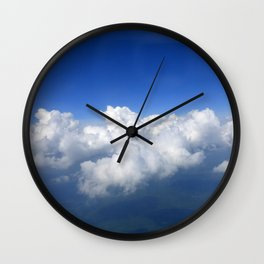 Above the clouds 03 Wall Clock