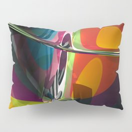 Abstract Composition 404 Pillow Sham