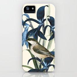Little Bird and Flowers II iPhone Case