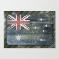 australia Canvas Prints featuring Australia by Arken25