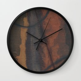 Charted Space, Small No. 1 Wall Clock