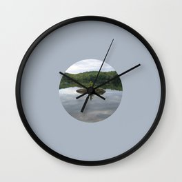 Reflecting Sadness, Along the Potomac River Wall Clock