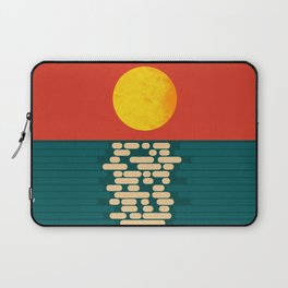 Sun Over The Sea - Afternoon Laptop Sleeve