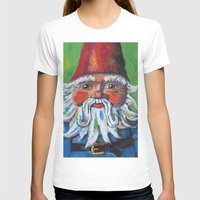 gnome T-shirts featuring Garden Gnome  by Juliette Caron