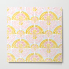 Light colored pattern Metal Print