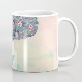Flower Whale Coffee Mug