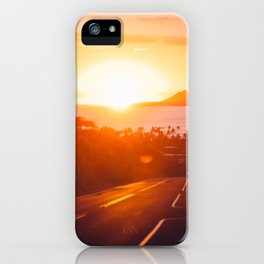 Hawaii Kai Sunset iPhone Case