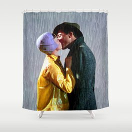 Singin' in the Rain - Slate Shower Curtain