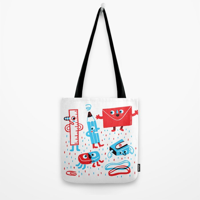 Stationery friends Tote Bag