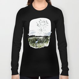 Dream of the Chicago wetlands. Long Sleeve T-shirt