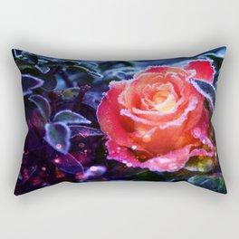 Enchanted Rose Rectangular Pillow