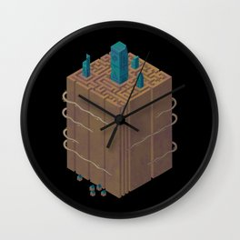 Within the Maze Wall Clock