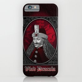 Vlad Dracula Gothic iPhone Case