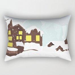 Trapped in wonderland - Aspen Colorado Rectangular Pillow