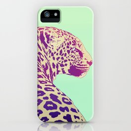 Leopard under the Sun iPhone Case