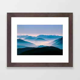 Pale Morning Light Framed Art Print