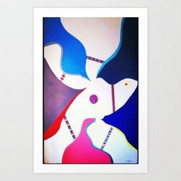 sixth sense Art Print