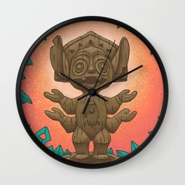 Tiki 626 Wall Clock