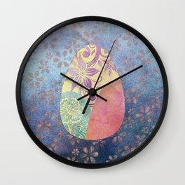 Elegant Ostara Eggs Wall Clock