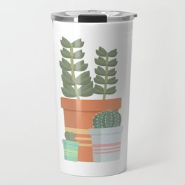 A collection of succulents Travel Mug