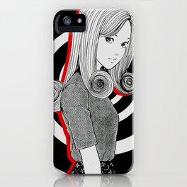 Kirie Junji Ito iPhone Case