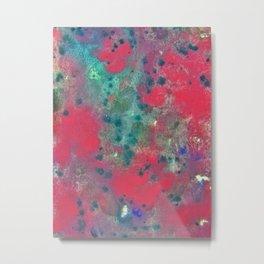 Eye Candy Splatter Metal Print