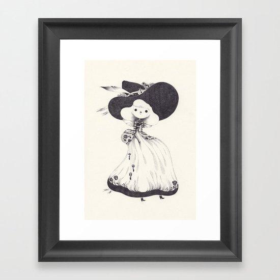 key Framed Art Print