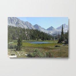 Rock Creek Canyon Metal Print