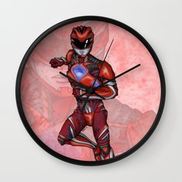 Go Go Red Wall Clock