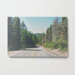 Santa Fe National Forest ... Metal Print