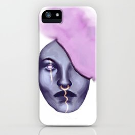 Smoke Head iPhone Case