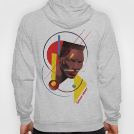 Famous people in a bauhaus style - Grace Jones Hoody
