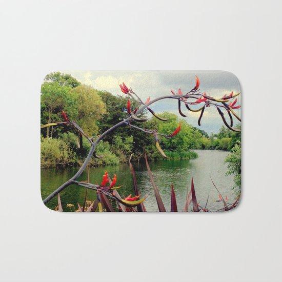 Landscape | The River | Dublin | Ireland Bath Mat