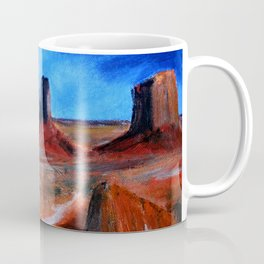 Utah Landscape Acrylic Painting Coffee Mug