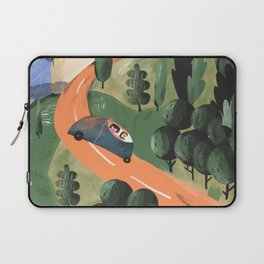 Road Trip in Tuscany Countryside Laptop Sleeve