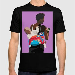 Mother and Child in Koala Pouch T-shirt