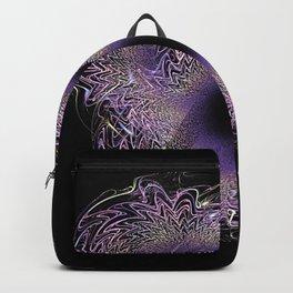 Violet Crystal Backpack