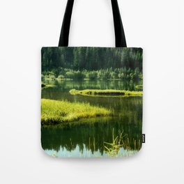 Fishing The Still Waters Tote Bag