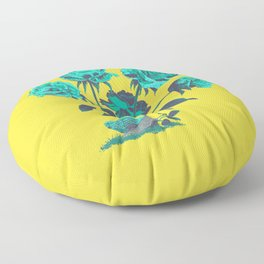 Snails N' Roses Floor Pillow