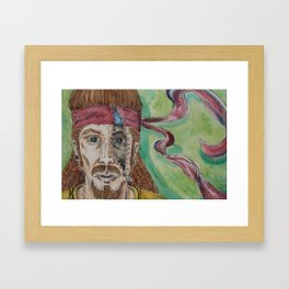 Inner Hippie Framed Art Print