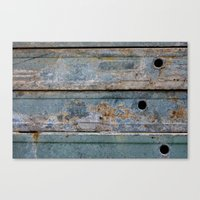 metal Canvas Prints featuring Metal by edlundart